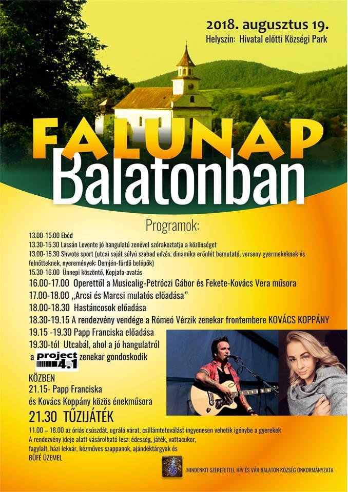 balaton község térkép Balaton község – Balaton Község polgármesteri hivatalának oldala balaton község térkép