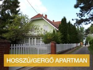 Hosszú-Gergő Apartman szoba Balatonlelle szállás