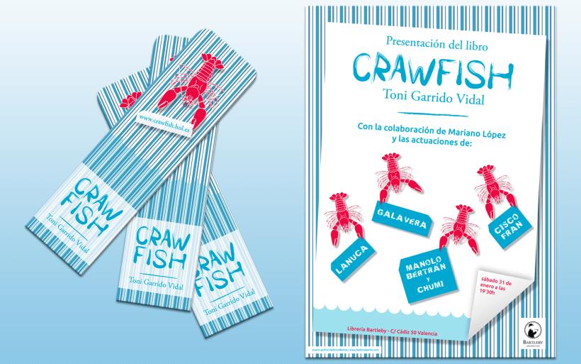 Crawfis, cartel y punto de lectura
