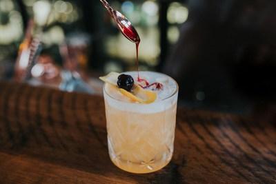 Balboa Italian Restaurant Palm Beach, Cocktail. Photography by Hayley Williamson