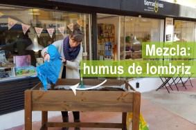 6 Mezca humus de lombriz