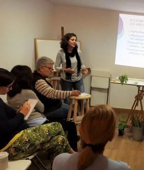 Alicia Rodríguez, bióloga y apicultora, el 25% de Apimágina