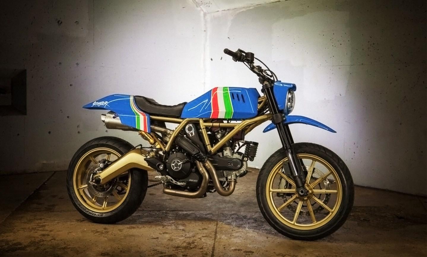 Criatividade na customização da linha Scrambler da Ducati