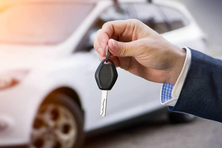 Carros mais seguros chave metal
