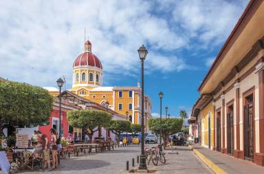 ruas de Manágua, capital da Nicarágua