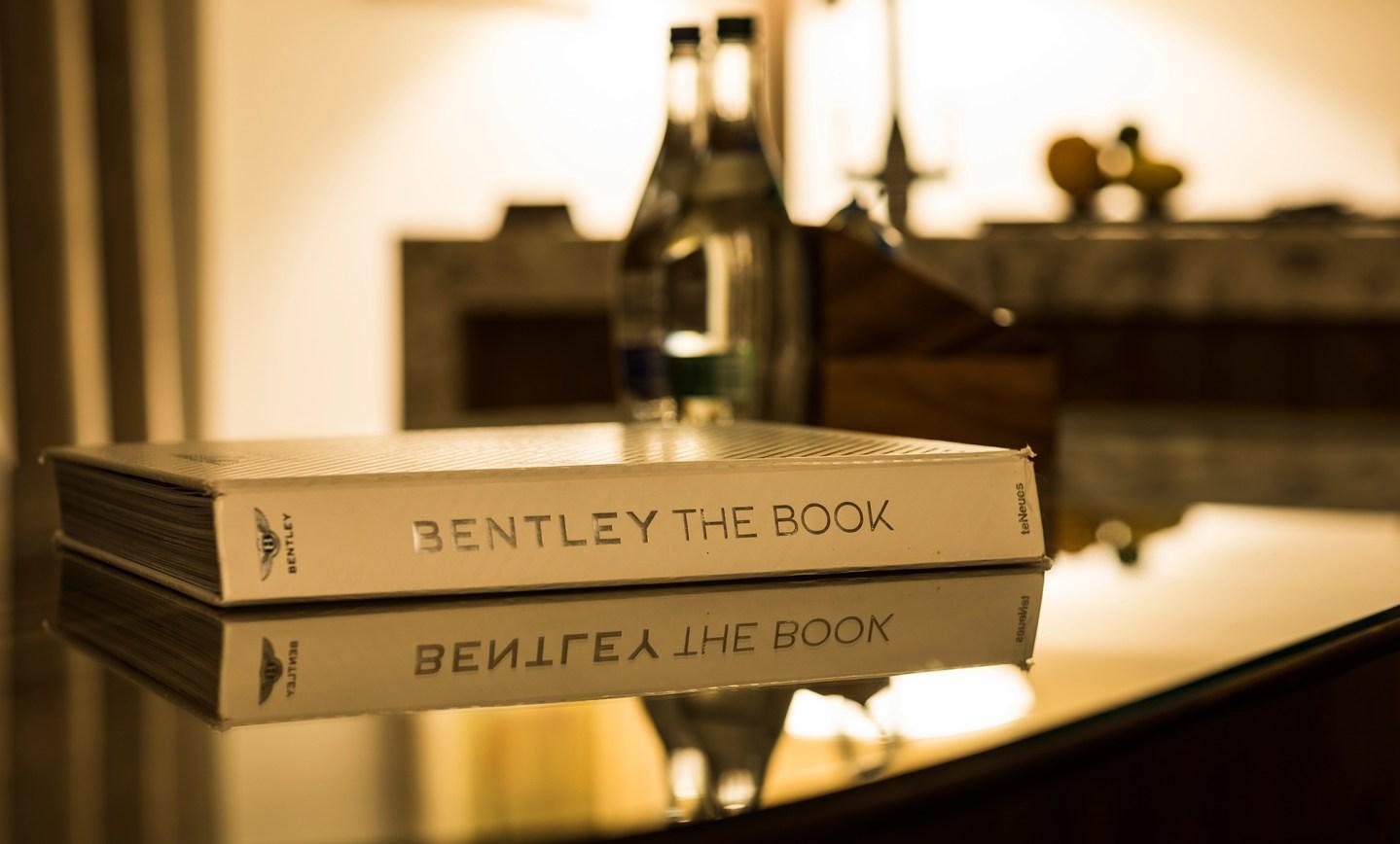 Bentley lança livro de R$ 1 milhão