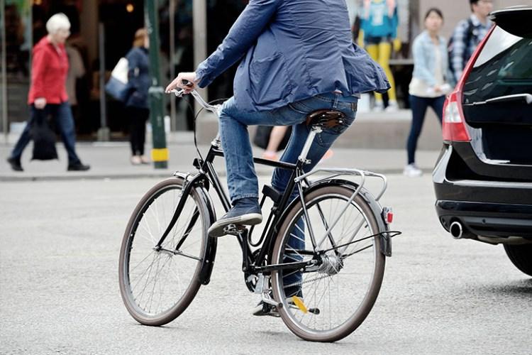 Bicicleta no trânsito