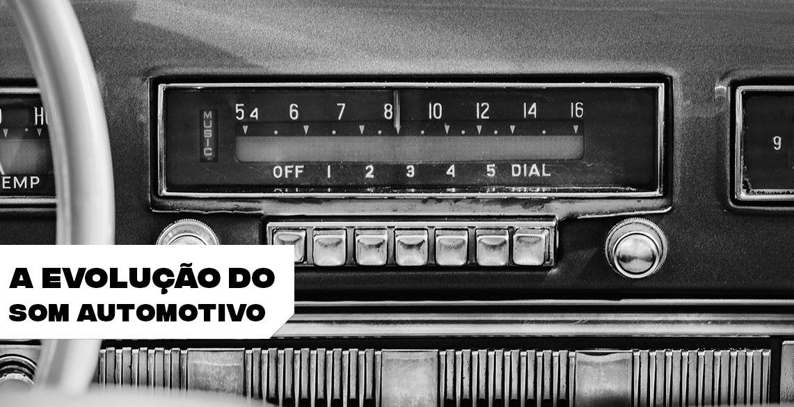 A evolução do som automotivo: do rádio aos paredões de som