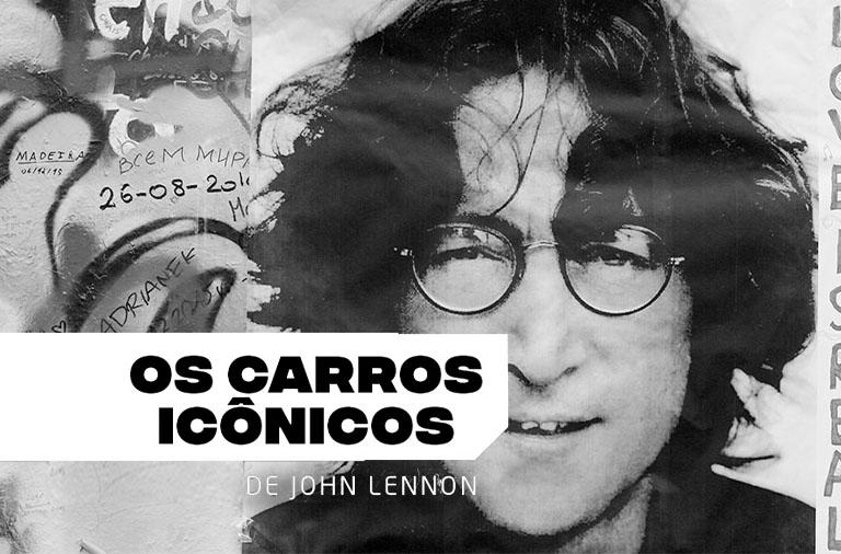 Os carros icônicos de John Lennon
