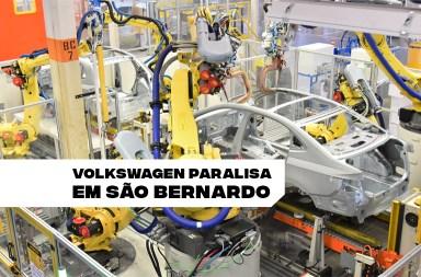 Volkswagen paralisação São Bernardo