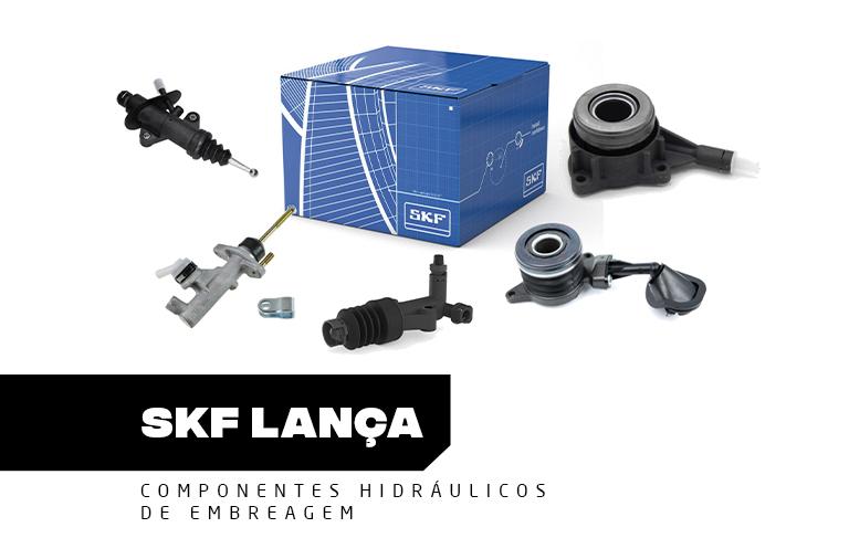 SKF lança componentes hidráulicos de embreagem