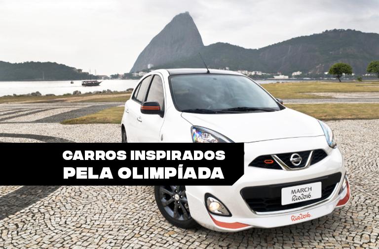Carros inspirados pela Olimpíada