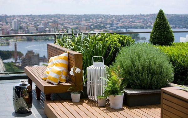 11 Most Essential Rooftop Garden Design Ideas and Tips ... on Terraced House Backyard Ideas id=73125