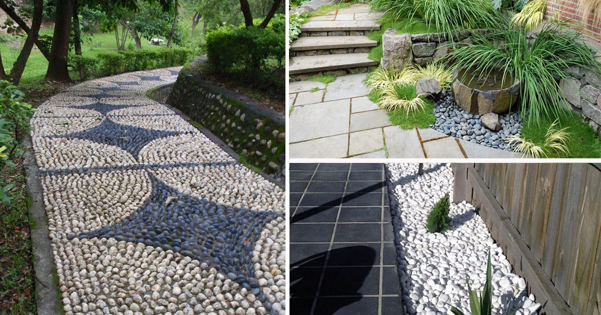 Everything You Need to Know About Using Pebbles in the ... on Pebble Yard Ideas id=49268
