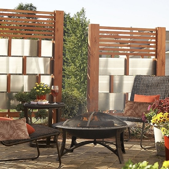 31 Best Privacy Fence Ideas for Backyard on Decorations For Privacy Fence id=49198