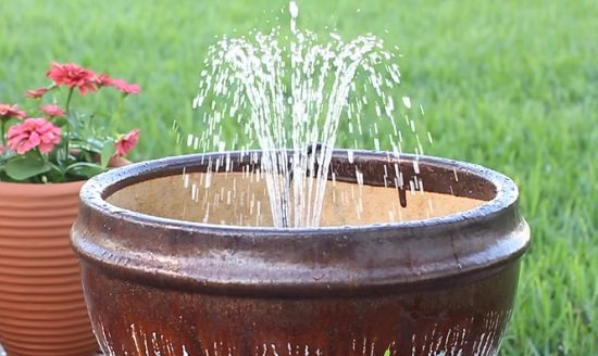 diy garden fountain ideas 14 DIY Container Water Fountain Ideas That Are Easy And