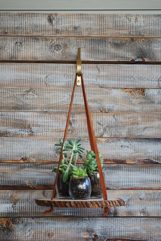 51 DIY Hanging Plants Indoors Ideas | Balcony Garden Web on Hanging Plant Stand Ideas  id=19781