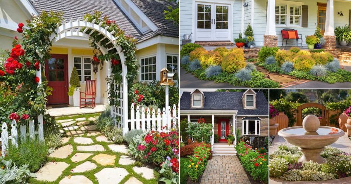 54 spectacular front yard landscaping