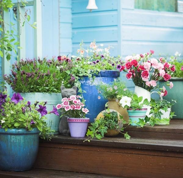 Patio and Balcony Planter Ideas on Backyard Balcony Ideas id=41628