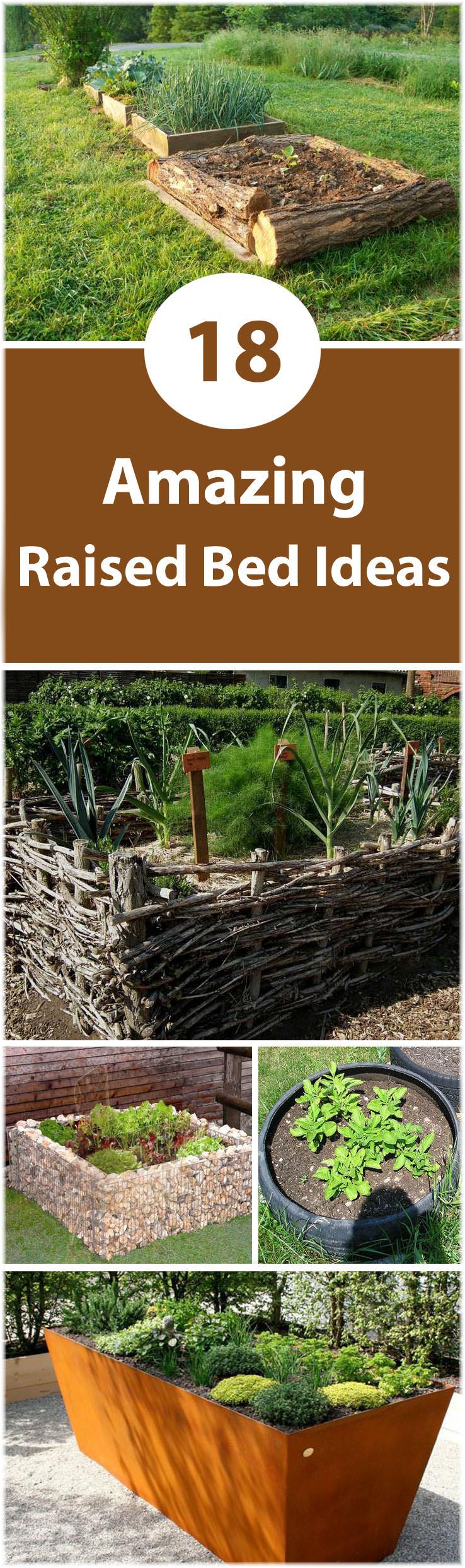18 Great Raised Bed Ideas   Raised Bed Gardening   Balcony ... on Backyard Raised Garden Bed Ideas id=57832