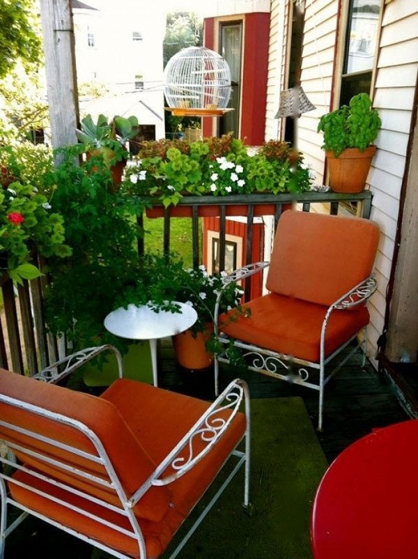 11 Small Apartment Balcony Ideas with Pictures | Balcony ... on Small Patio Design Ideas  id=80974