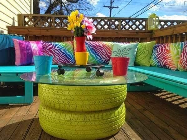 20 Amazing DIY Garden Furniture Ideas | DIY Patio ... on Diy Garden Patio Ideas id=69132