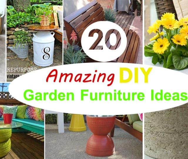 Amazing Diy Garden Furniture Ideas Diy Patio Outdoor Furniture Ideas Balcony Garden Web