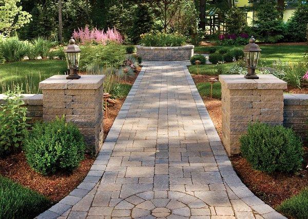 19 DIY Garden Path Ideas With Tutorials | Balcony Garden Web on Patio And Path Ideas  id=65141