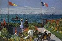 Claude Monet's Impressionism of Jardin a Sainte