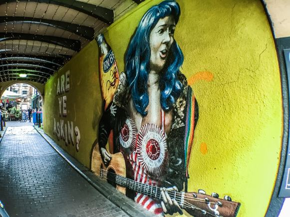 Glasgow Murals - Katy Perry