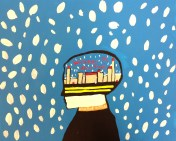 Snow globe concept-Acrylic