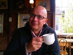 Richard Vobes is the Bald Explorer