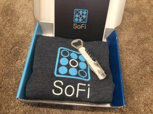 SoFi welcome package