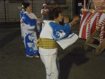 Our neighbourhood party, Hon-Atsugi, July 2014