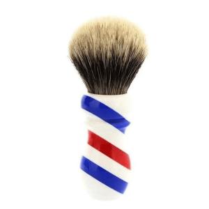 1207 Yaqi Brush Best Badger Barber Pole 24