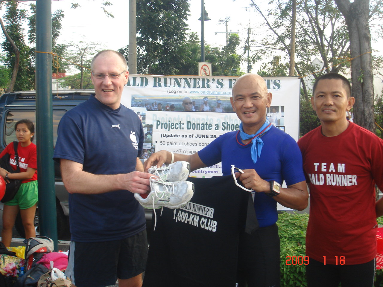 Formal Turn-Over of Shoes From Mark Robinson With Maj Espejo