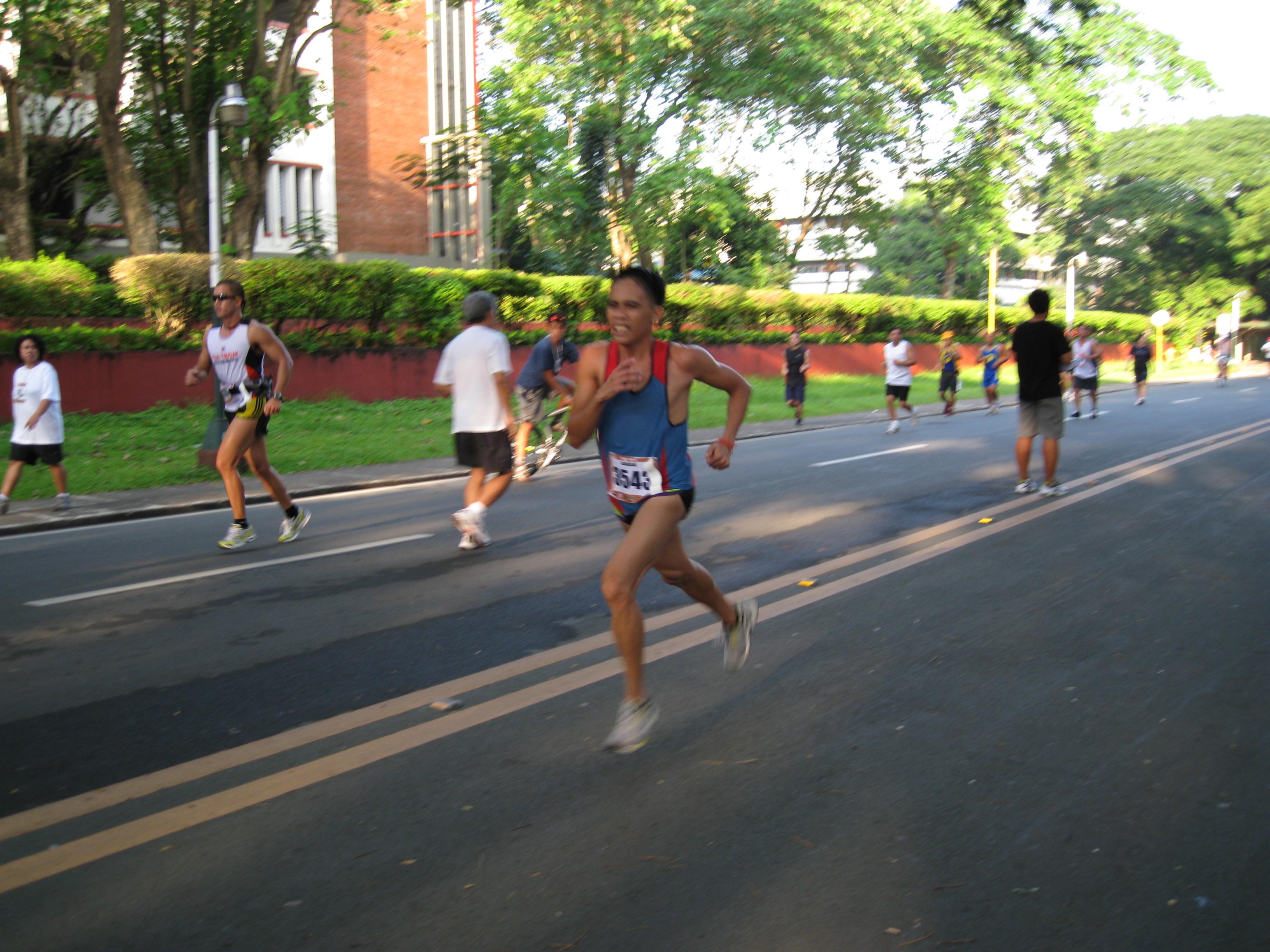 Rene Desuyo Before The Finish Line