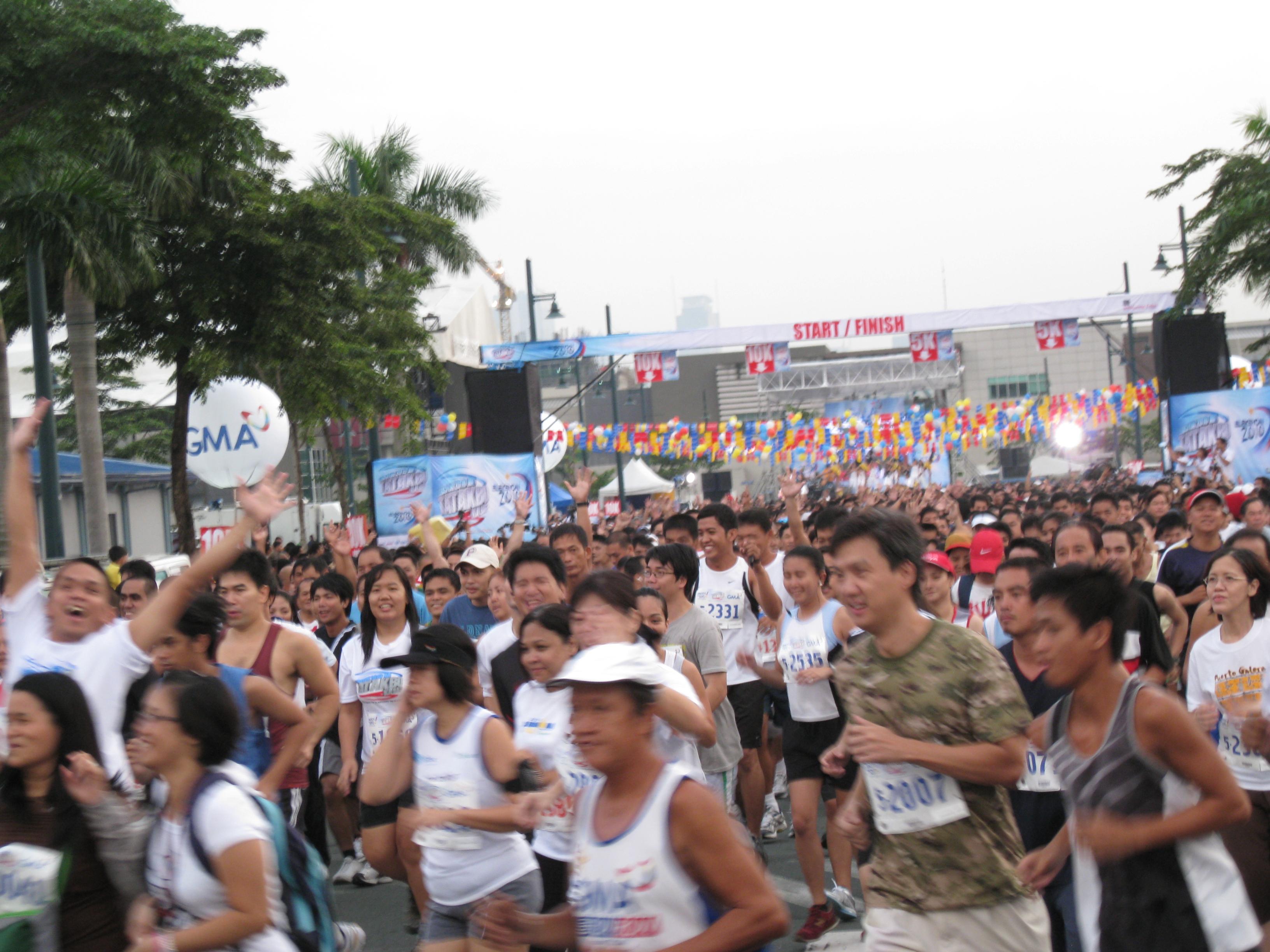 """""""Mass Start"""" For the 5K & 10K Runners"""