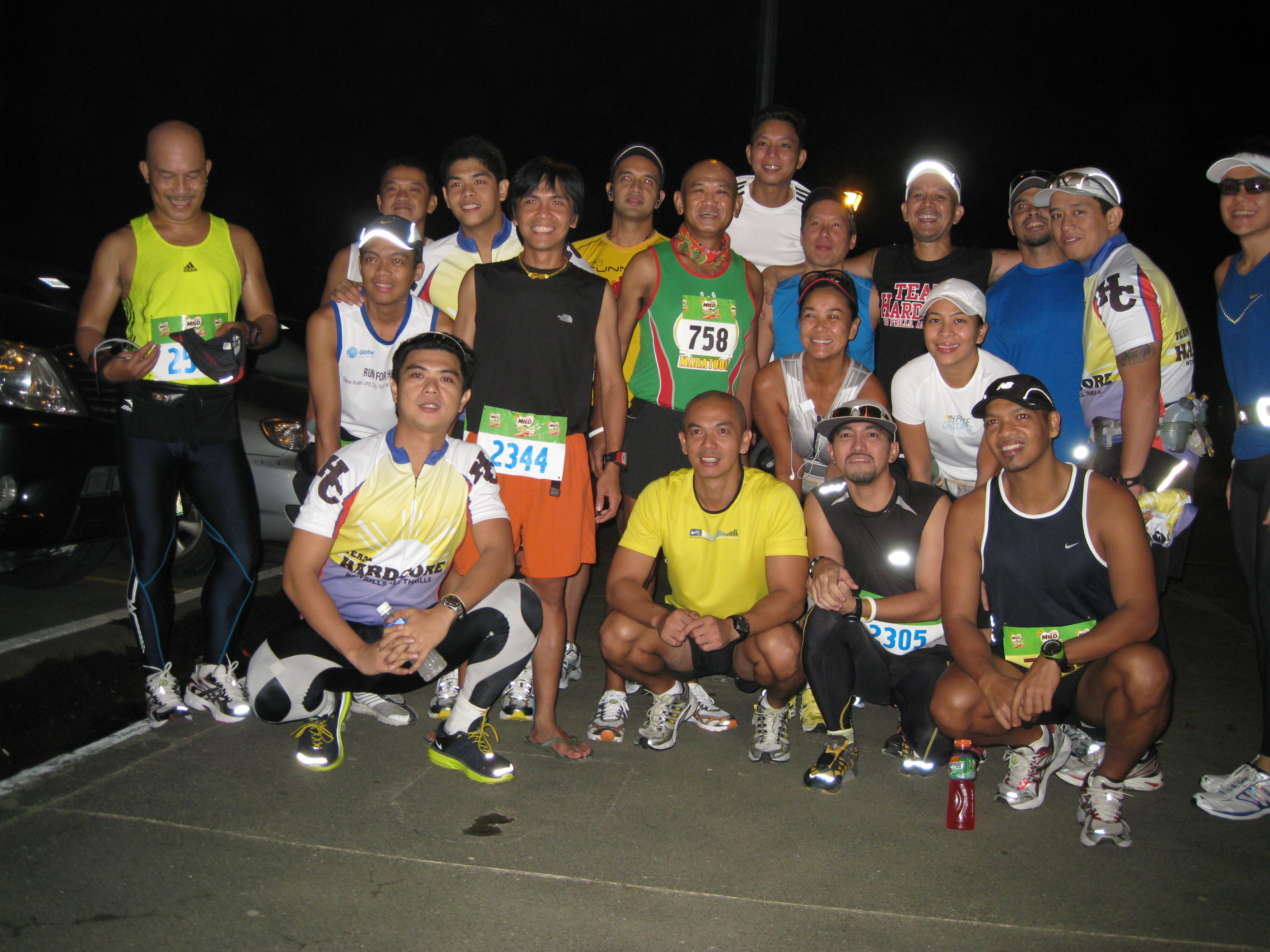 Group Picture With Team Hardcore & 1st BDM 102 Finishers