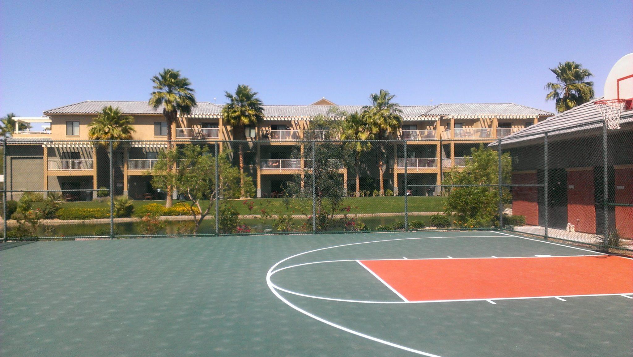 Worldmark Indio 3 Bedroom Penthouse Basketball Court
