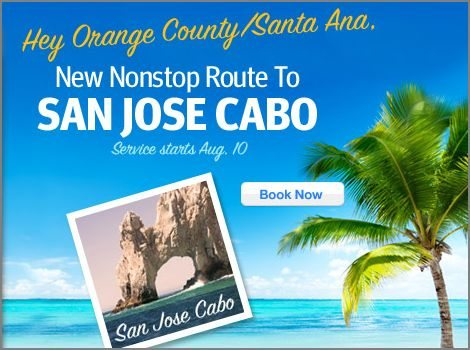Southwest SNA to SJD announcement