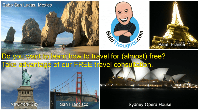 BaldThoughts free travel consulting