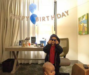 Kimpton Shorebreak Timmy birthday surprise