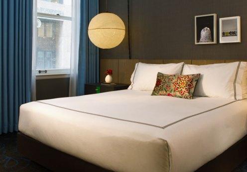 Kimpton Gray Hotel Chicago bedroom