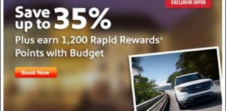 Southwest Budget promotion