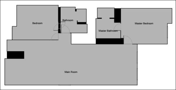 Worldmark by Wyndham Coral Baja two bedroom floor plan