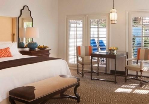 Waldorf Astoria La Quinta Resort Deluxe Casita bedroom