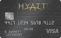 Chase Hyatt Visa credit card