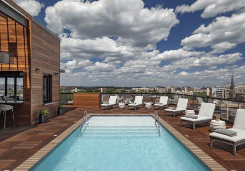 Kimpton Mason & Rook rooftop pool
