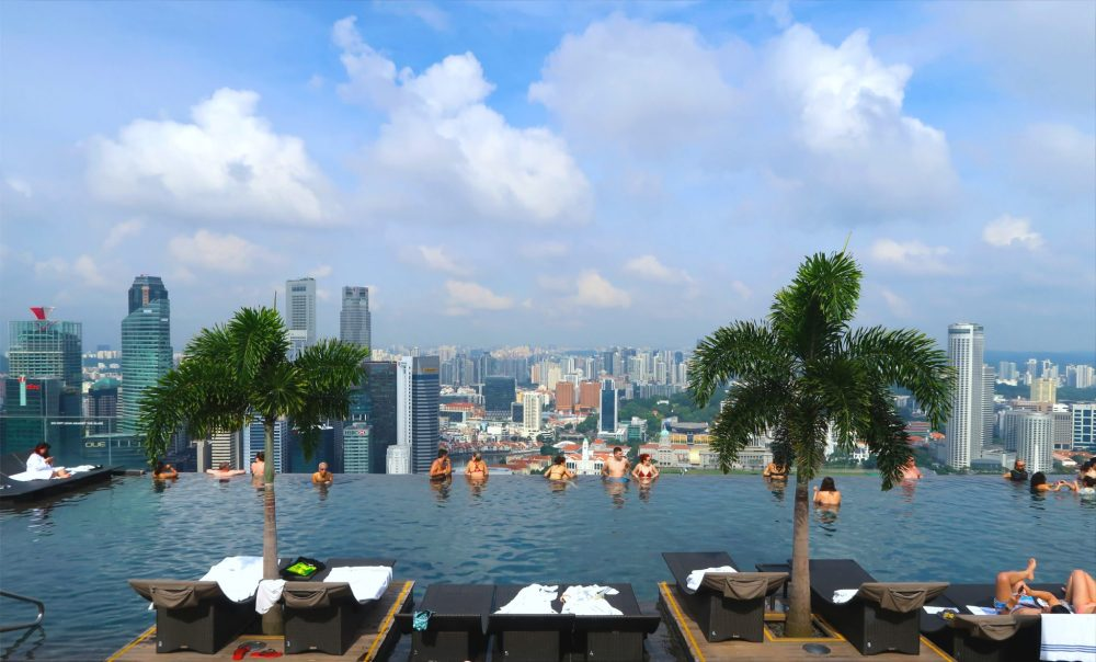 Marina Sands Bay Infinity Pool